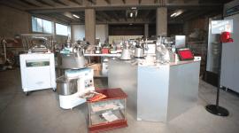 planetarie e altri attrezzi per cucine
