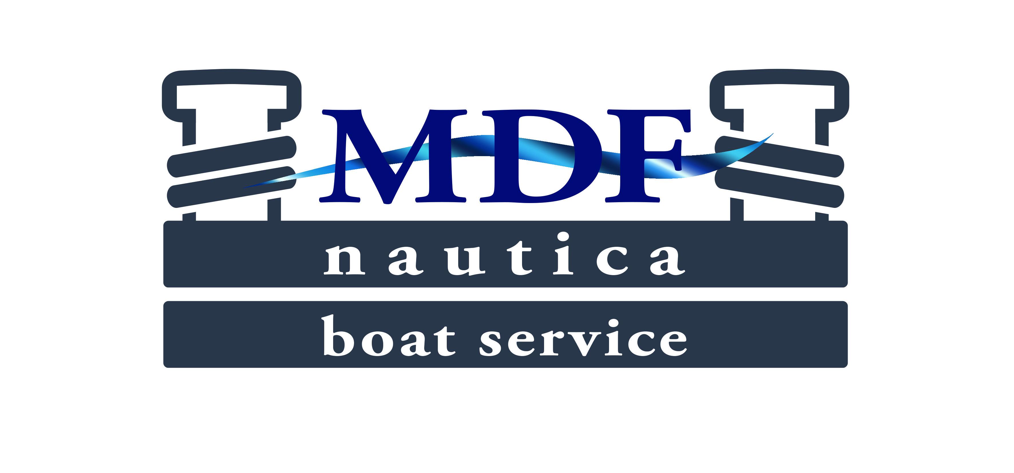 M.D.F. BOAT SERVICE-LOGO