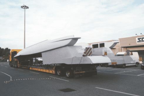 Balboni Gabriele Autotrasporti esegue il trasporto di barche e veicoli per la navigazione.