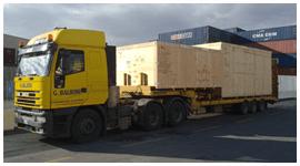 camion per trasporti pesanti