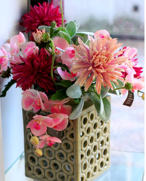 vaso di stile, curato e moderno