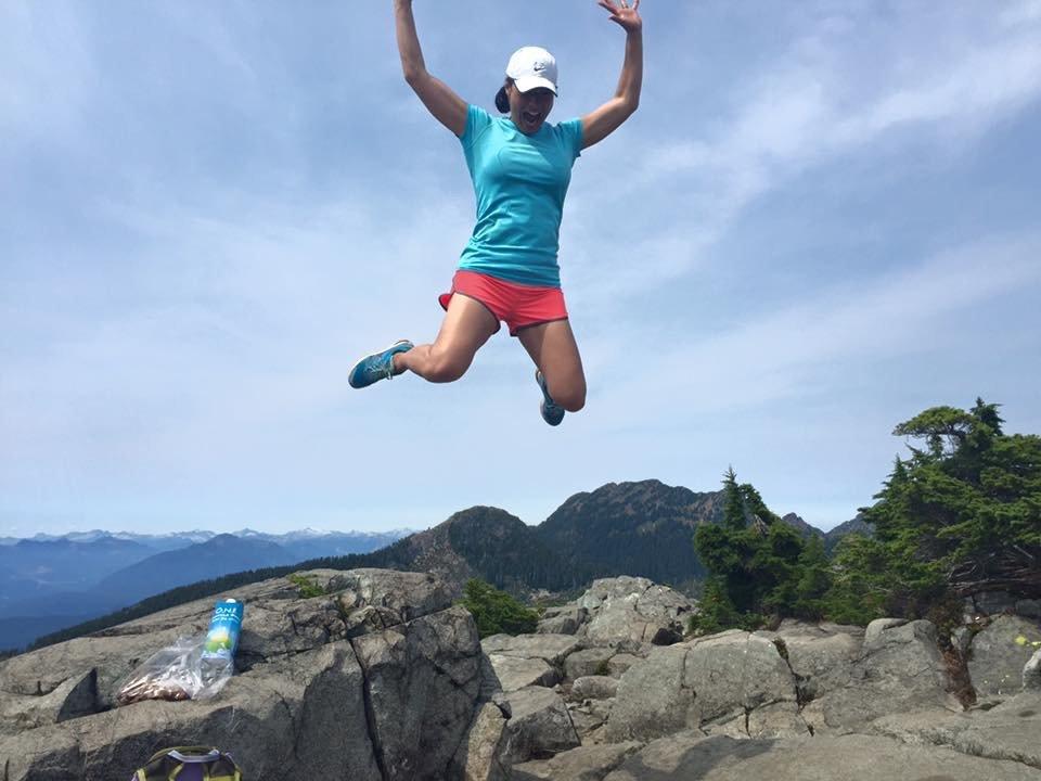 Amanda Babic Jumping