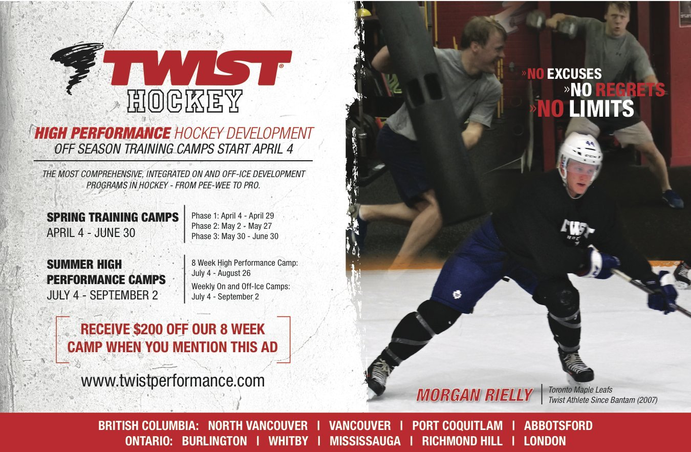 Twist Vancouver hockey promo