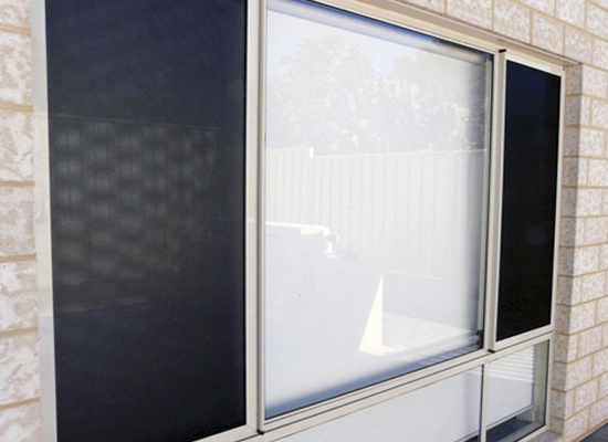 security screens on window