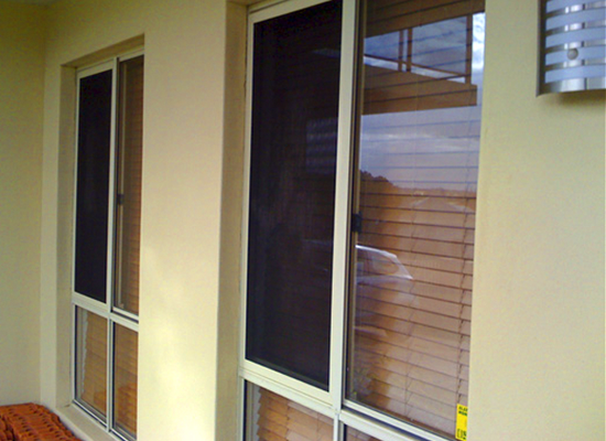 security screens and windows