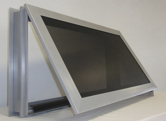 aluminium security window