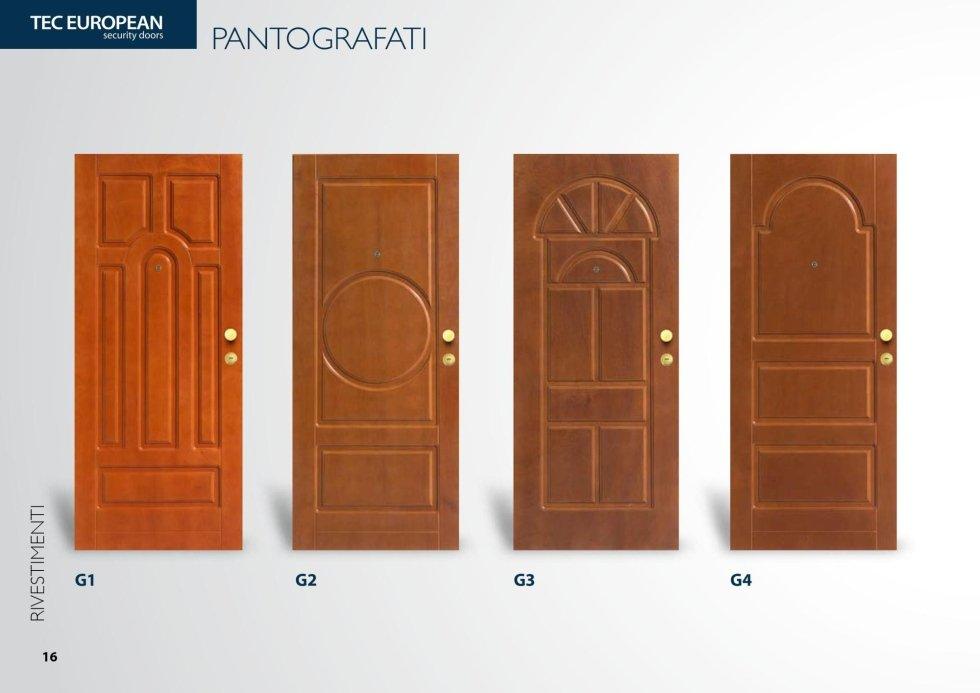 porta in legno vivo