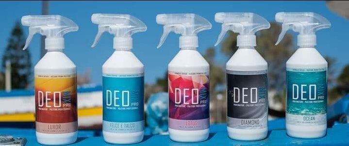 fila di spray a marchio DEOMIX PRO