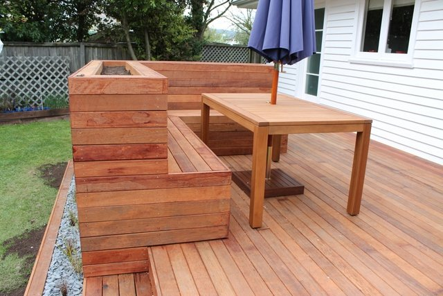 Wooden decking in Canterbury
