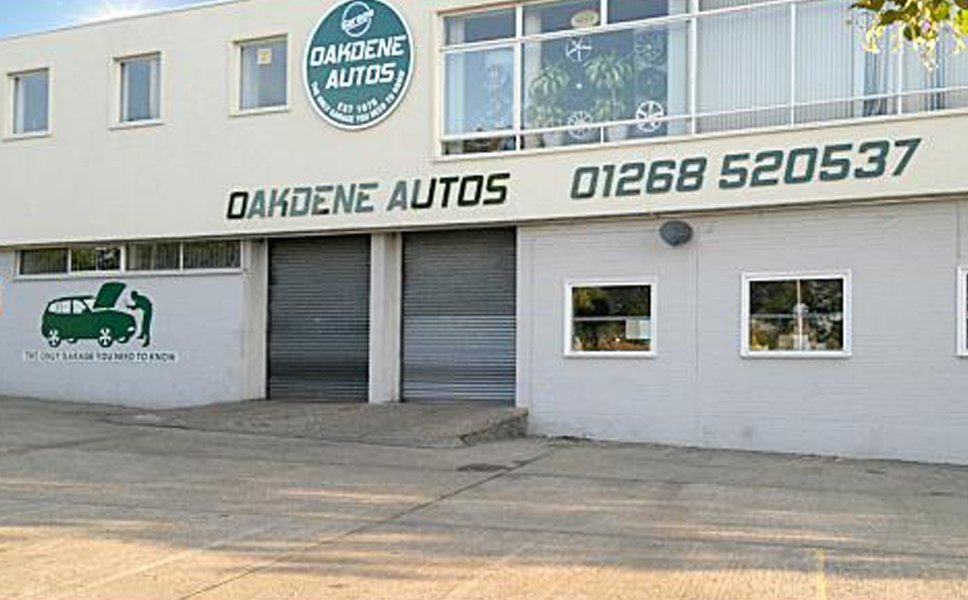 OAKDENE AUTOS showroom