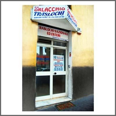 ingresso sede Orlacchio