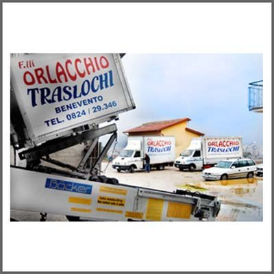parco mezzi di trasporto Orlacchio