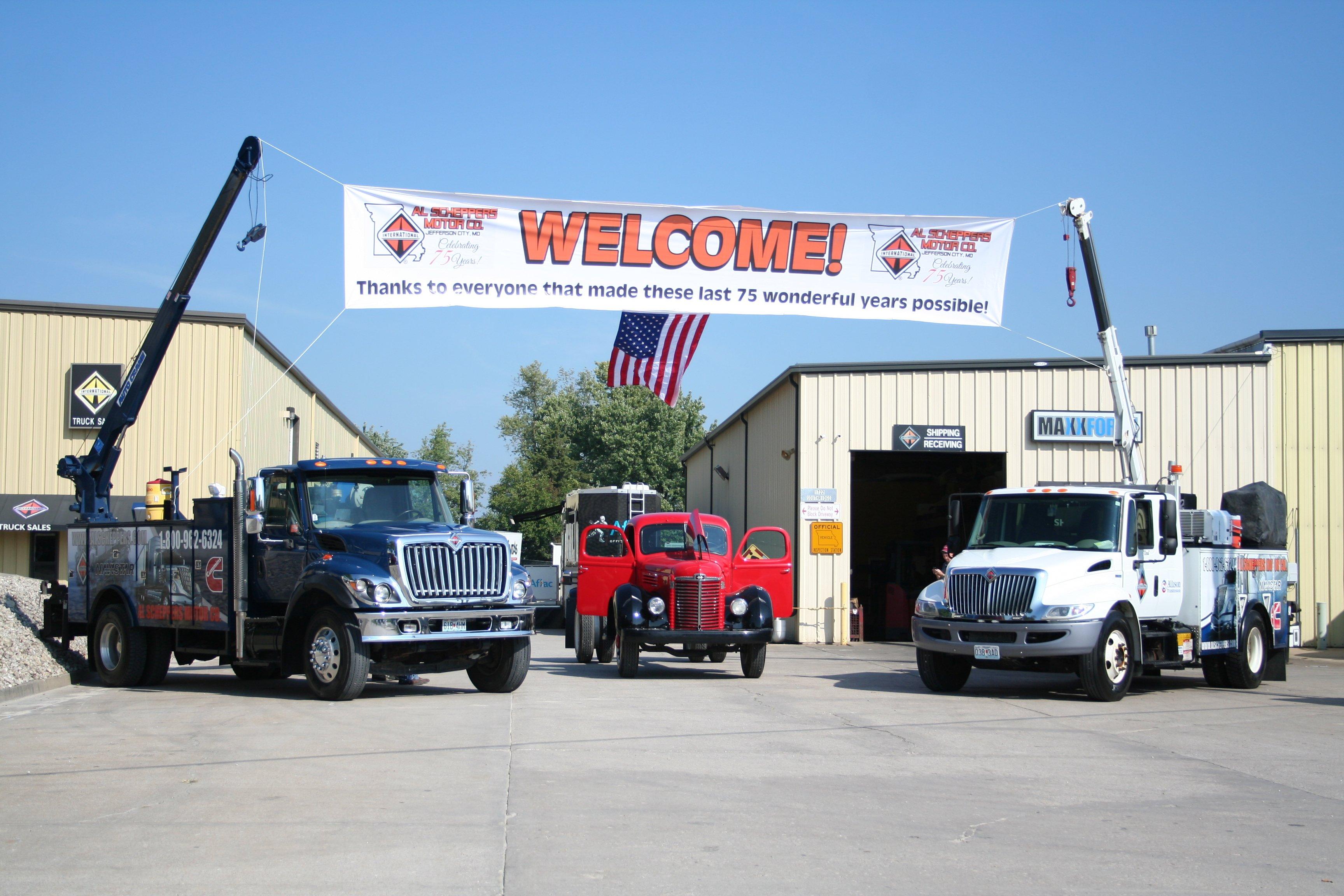 Scheppers International Truck Center Jefferson City MO