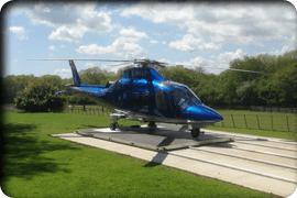 Mobile Helicopter pad