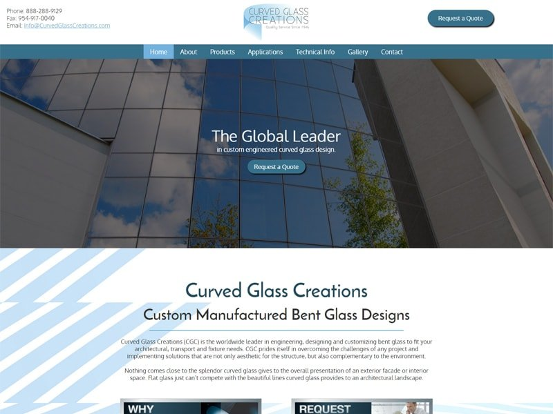 Curved Glass Creations