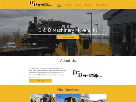 D & D Machinery Movers