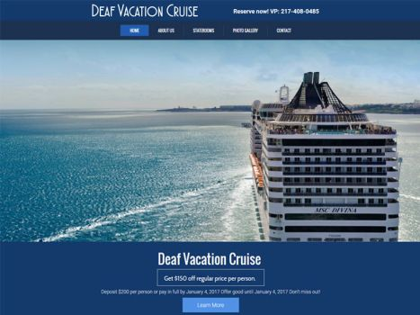 Deaf Vacation Cruise