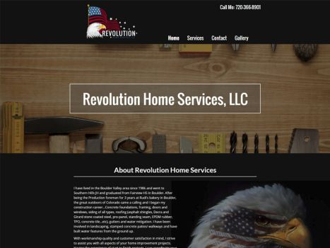 Revolution Home Services LLC