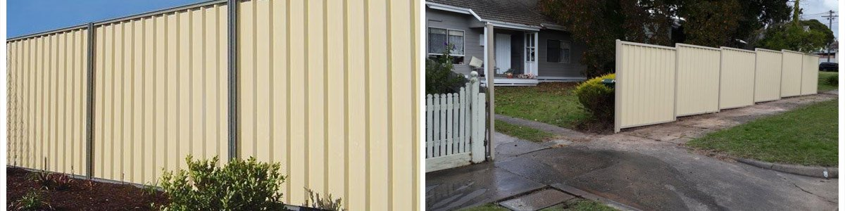 Colorbond Fencing | Latrobe Valley | Sulty's Yard Solutions