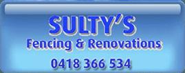 sultys fencing logo