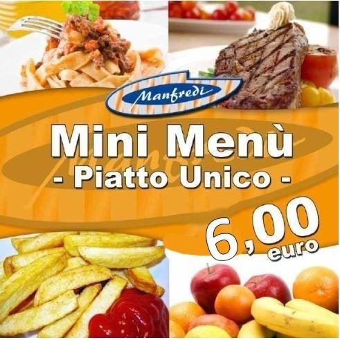 mini menù Catanzaro