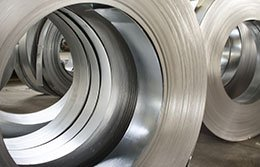 coils of rolled sheet metal
