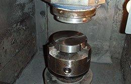 grinding a metal profile