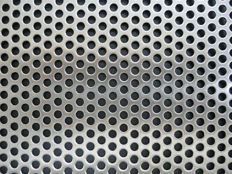 The Perforated Sheet Metal Process