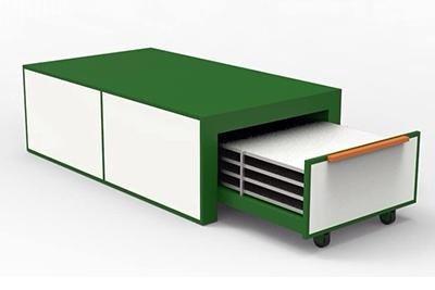 forno modello EVO-LB per la laminazione del vetro