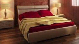 mobili camera da letto, letto matrimoniale, comodini