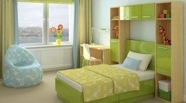 camerette, camere per bambini, scrivanie