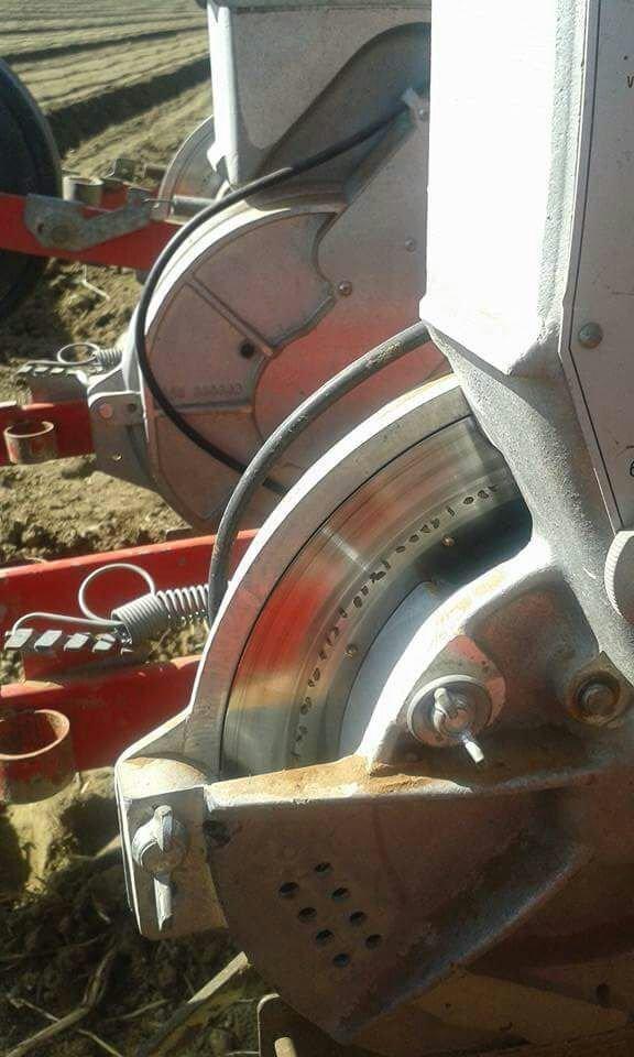 Dettaglio di un macchinario agricolo