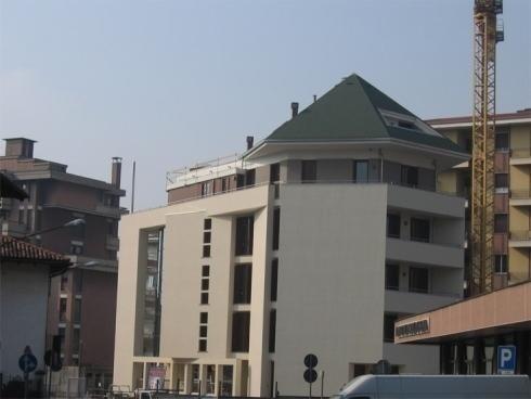 Copertura edificio moderno