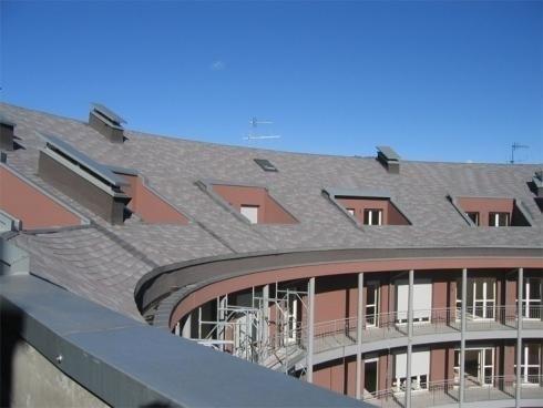 Copertura con terrazzi