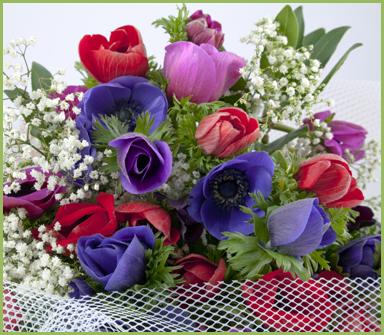 mazzo di fiori, composizione floreale