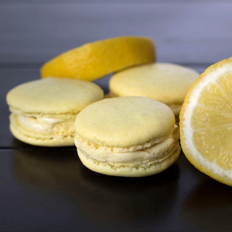 Luscious Lemon macarons