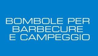 BOMBOLE PER BARBECURE E CAMPEGGIO