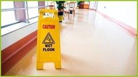 pulizia corridoi ospedali