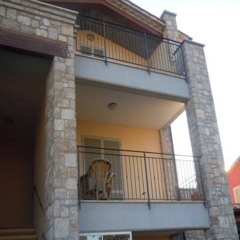 ringhiere per balconi in ferro