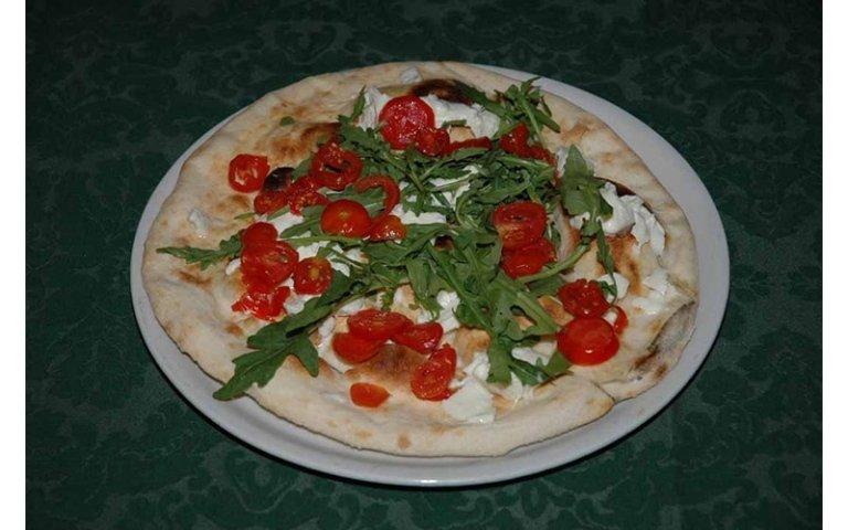 Pizza cotta forno legna