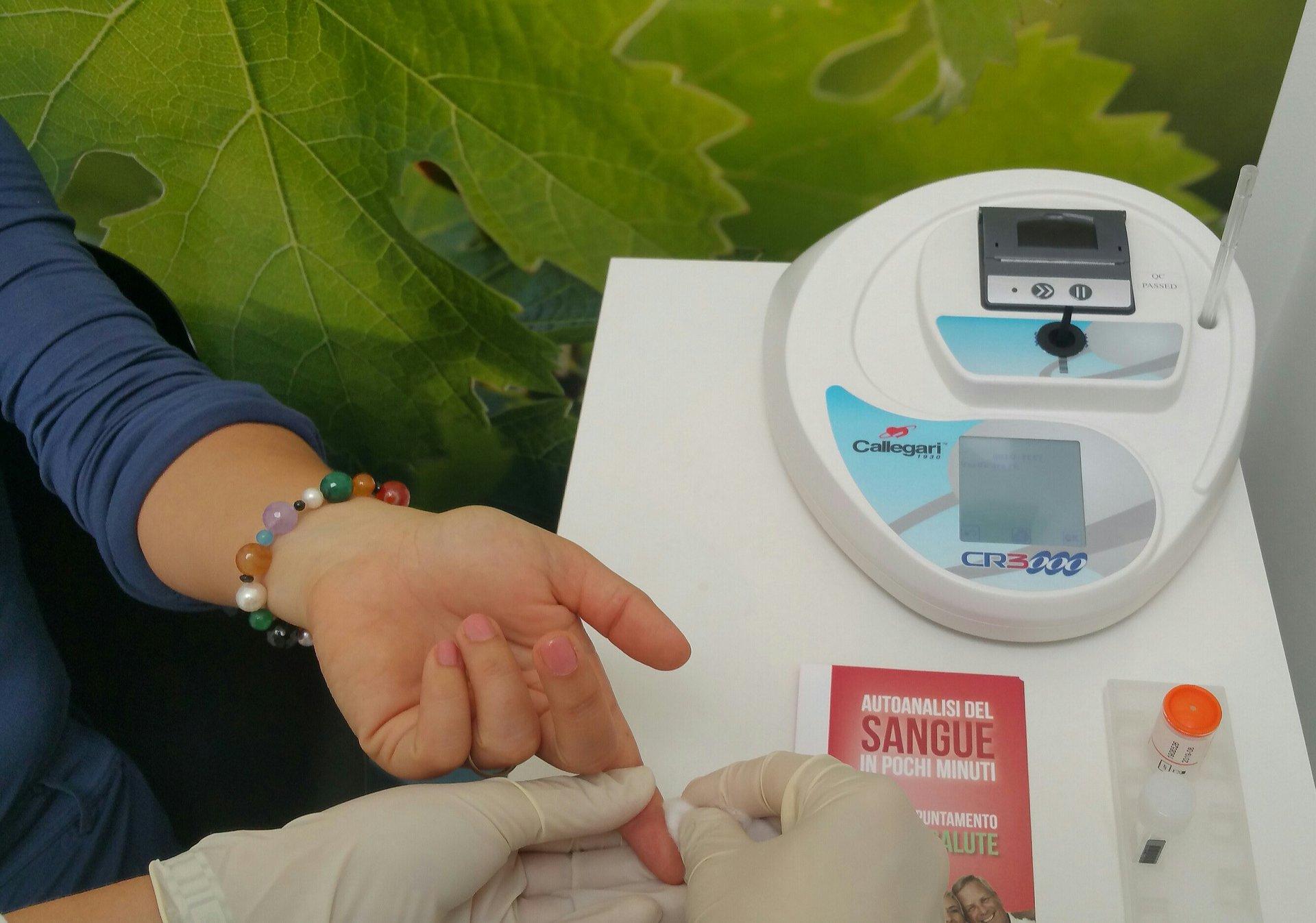 analisi del sangue in farmacia