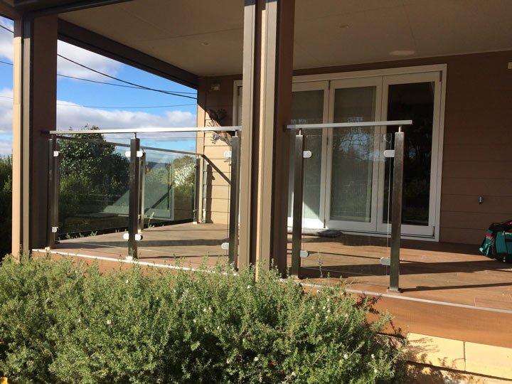 prestige metal works pty ltd glass balustrade