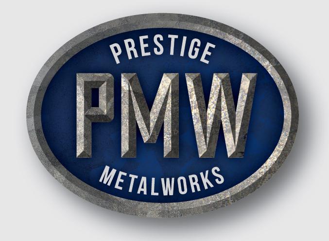 prestige metal works pty ltd logo