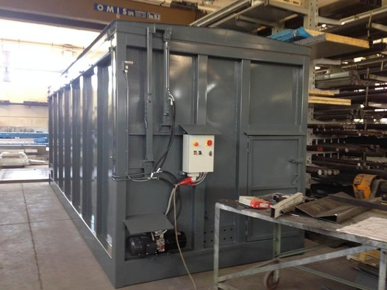 Biomass storage container