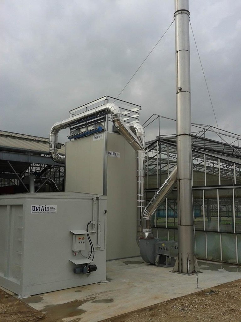 Boiler power supply and fume extraction