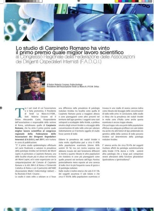 articolo Carpineto Romano