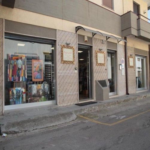 Esterni del negozio MorganArte a Nardò