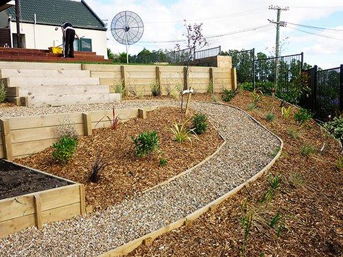 L j landscape contractors landscaping christchurch for Christchurch landscaping companies