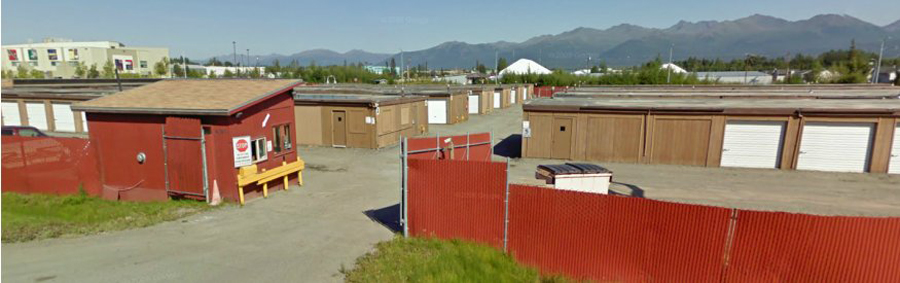 Secure and safe personal storage space facility in Anchorage, AK