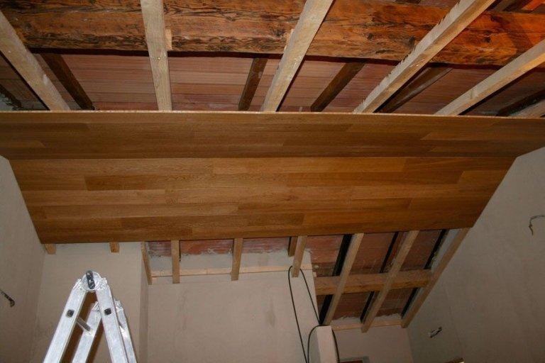 Soffitti In Legno Chiaro : Soffitti in legno verona bordoni